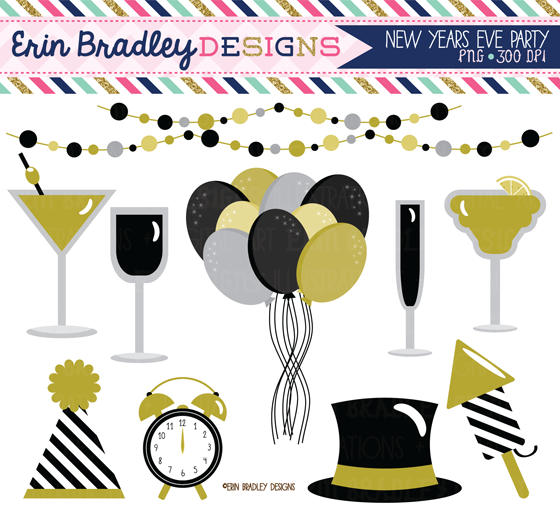 New Years Clipart 2015