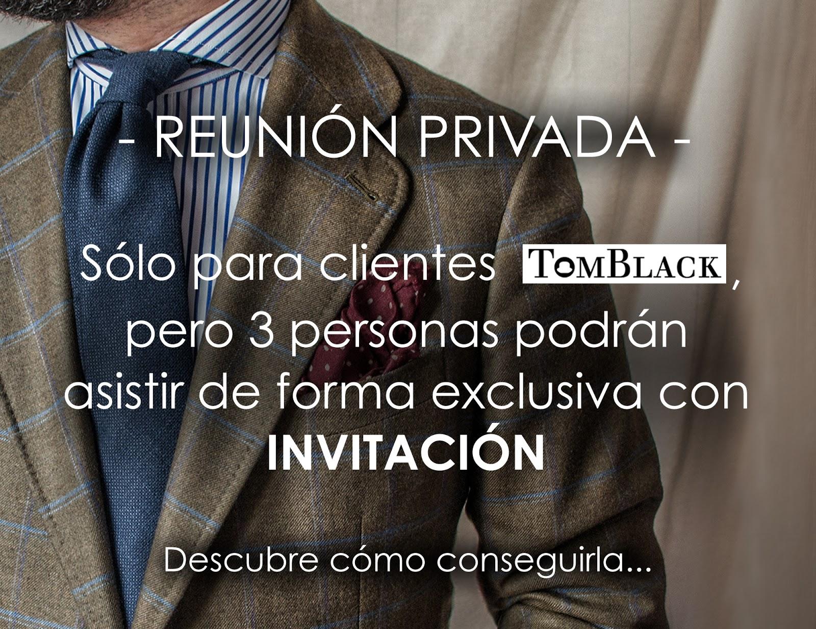 Reunión Privada TOMBLACK.