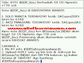Vote IDP dahSyatnyaAwards2012