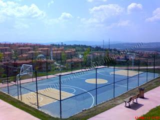 adapazarı korucuk park basketbol sahası