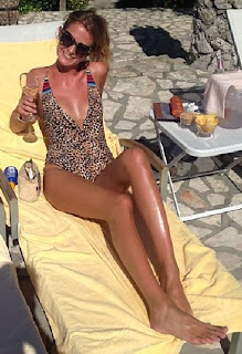 Millie Mackintosh in Bikini on honeymoon in Italy