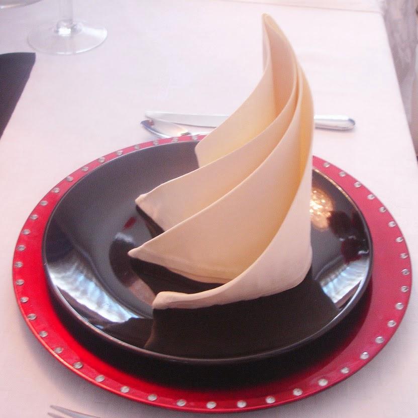 Spiral napkin fold directions bing images