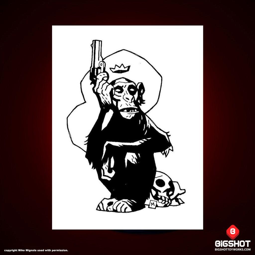 Mike Mignola's Monkey with a Gun