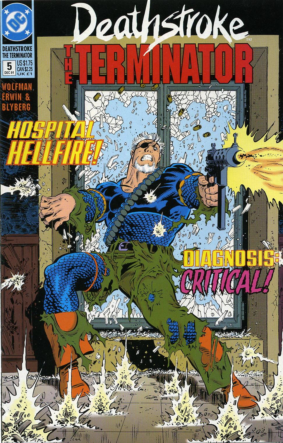 Deathstroke (1991) Issue #5 #10 - English 1