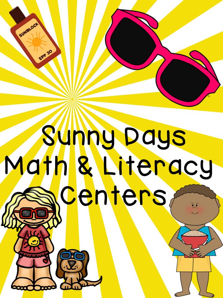 http://www.teacherspayteachers.com/Product/Sunny-Days-Math-and-Literacy-Centers-1312578