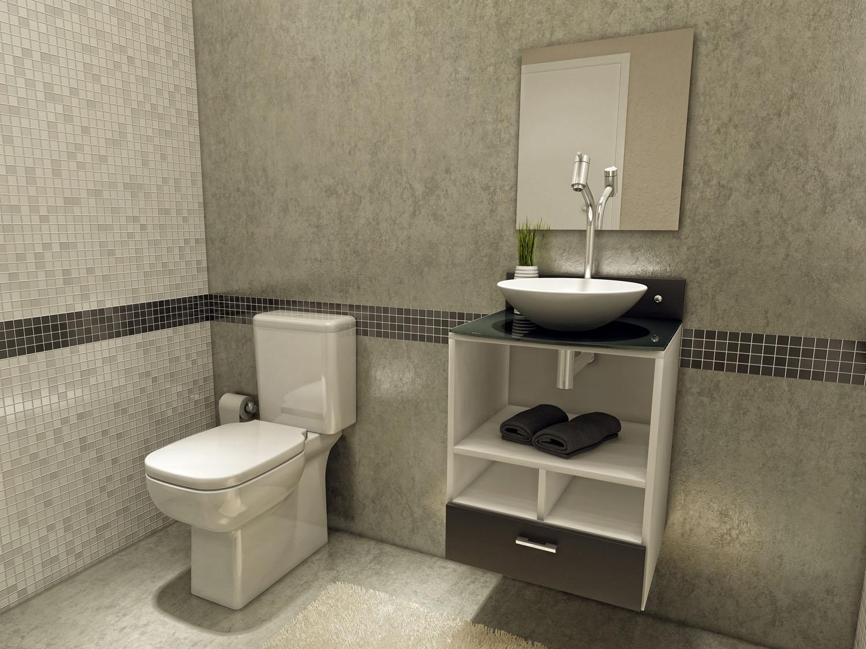 Papeleira de Chão: prática dispensa instalações na parede moderna  #7C704F 1500 1125