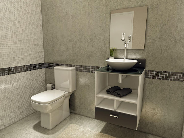 Banheiros Modernos, quais são as tendências?  Decor Salteado  Blog de Decor -> Pia De Banheiro Lateral