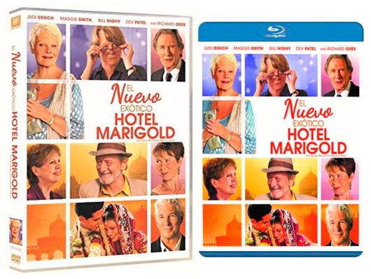 A la venta 'El nuevo exótico Hotel Marigold' en Blu-ray y DVD