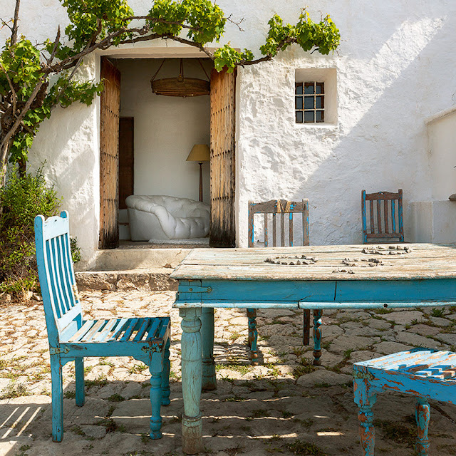 stone house in Ibiza
