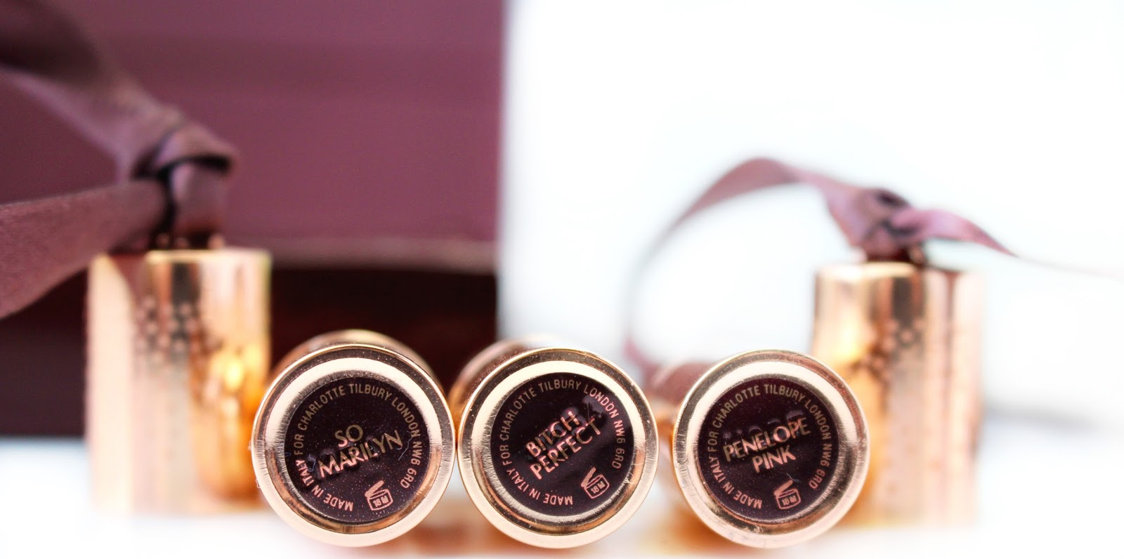 Charlotte Tilbury Mini Lipstick Charms Review