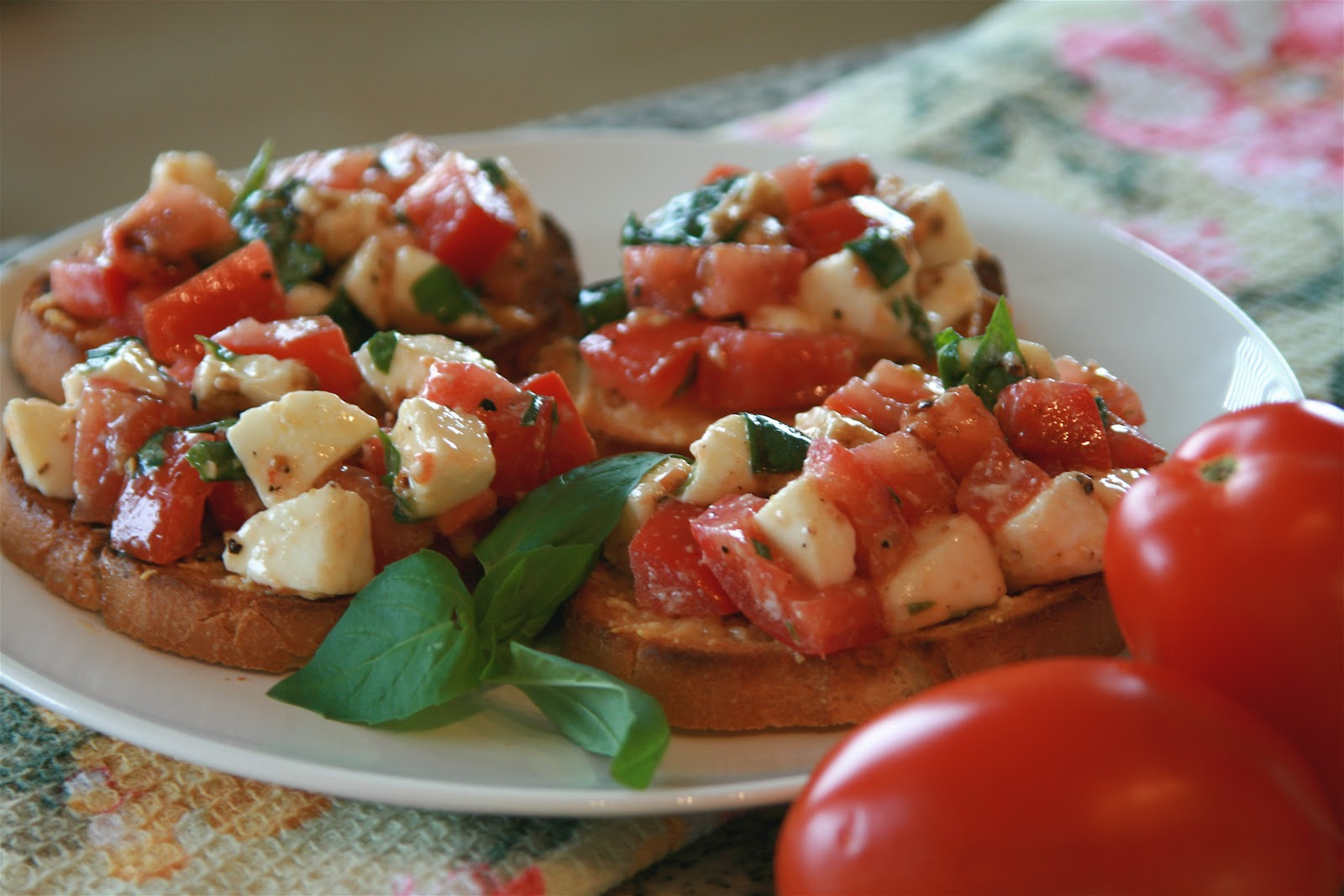 Cook Bake & Decorate: Bruschetta