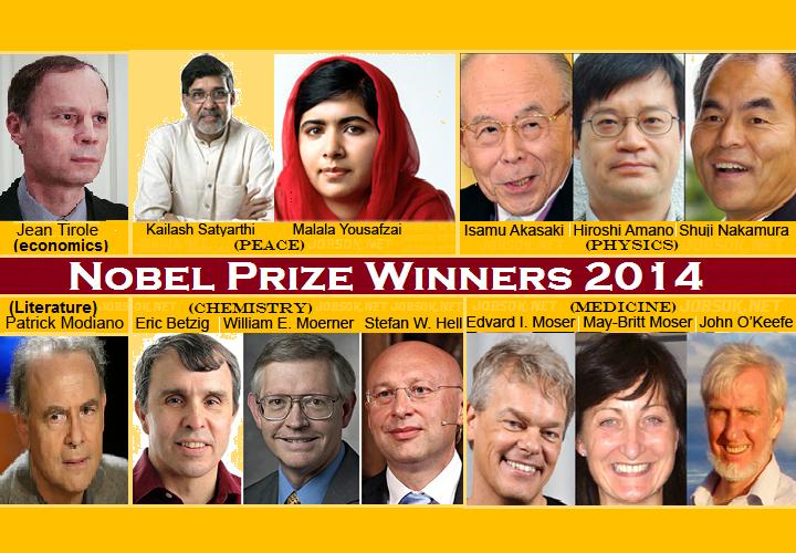 Nobel Peace Prize Winners 2014 Nobel Prize 2014 winne...
