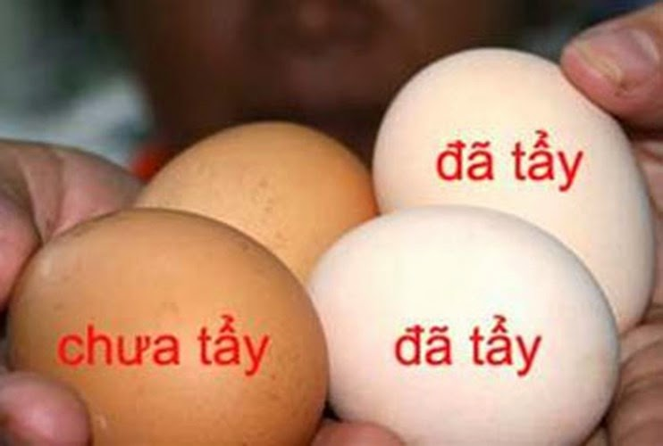 Hướng dẫn cách chọn trứng gà ta mới, tươi 2