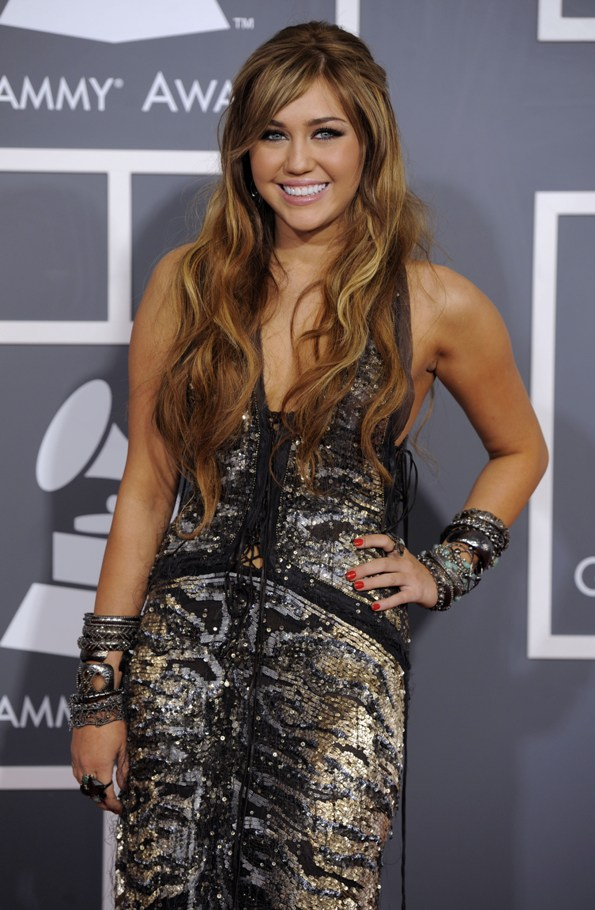miley cyrus pictures of 2011. Miley Cyrus: 2011 Grammy