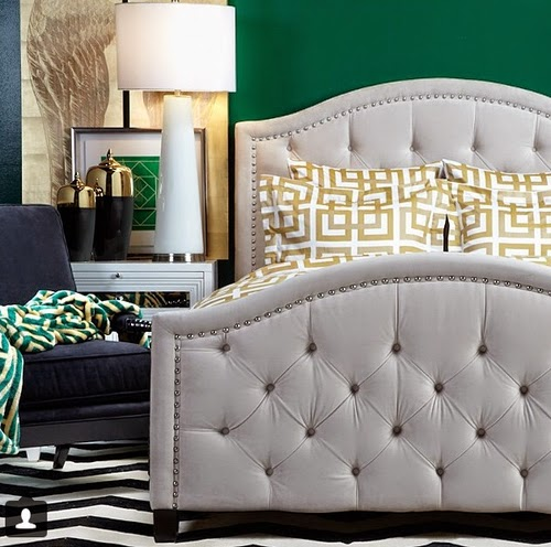 In A Preppy Eclectic Space You Need To Mix Patterns Fearlessly And Cohesively