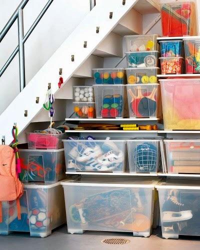 Organizar el trastero