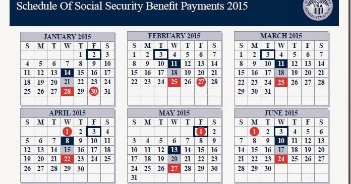 Social security deposit dates
