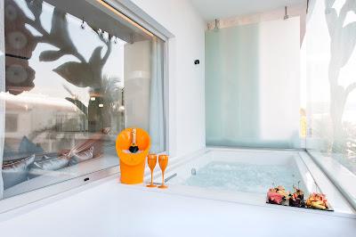 La terraza exterior de las Suites dispondrán de jacuzzi