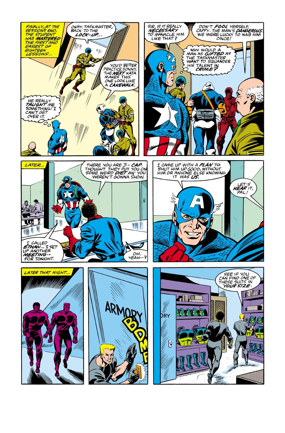 Captain America (1968) Issue #334 #263 - English 19