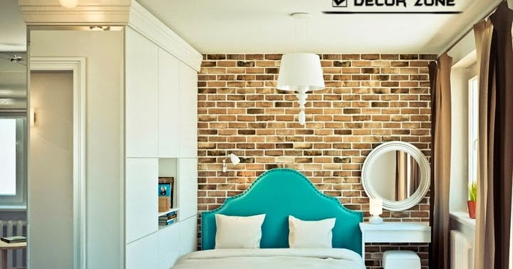 One bedroom studio apartment design with open interior for Apartment studio vs 1 bedroom