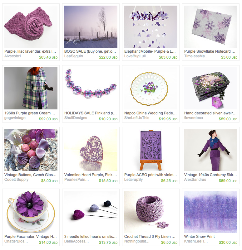 Purple Winter Wonderland inspired gift guide #purple #winter #wonderland
