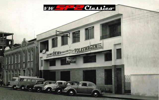 Foto antiga Concessionária Volkswagen