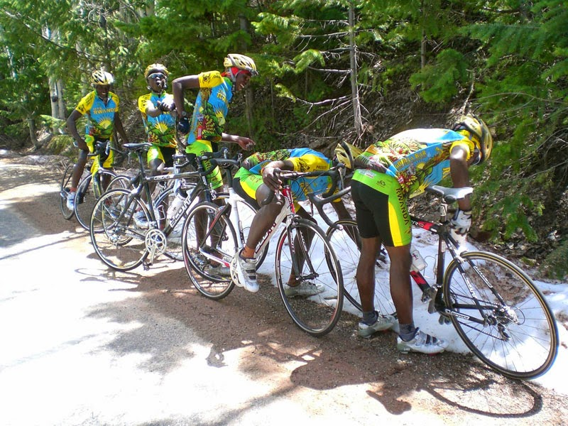 Team Rwanda Sees Snow For First Time Ever