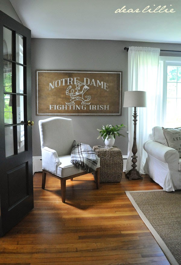 dear lillie two big projects in jason 39 s living room a