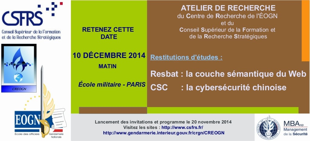 Atelier de Recherche Cyber (CSFRS/CREOGN)