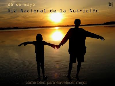 El 28 de mayo se celebra el día nacional de la nutrición