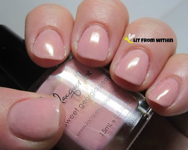 Lacquer Lust Sweet Georgia Peach