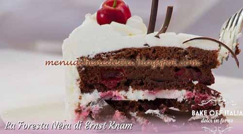 Torta Foresta Nera ricetta bake Off Italia 2
