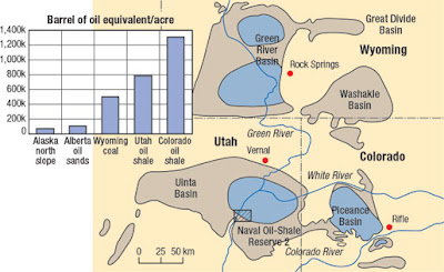 200 Year Supply Of Oil In Green River Formation thumbnail