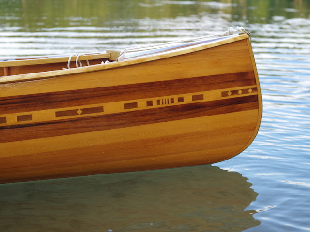 The Boat Is 15 Feet Of Western Red Cedar Feature Plank On Hull Incorporates Walnut And Beech Decks Are Comprised
