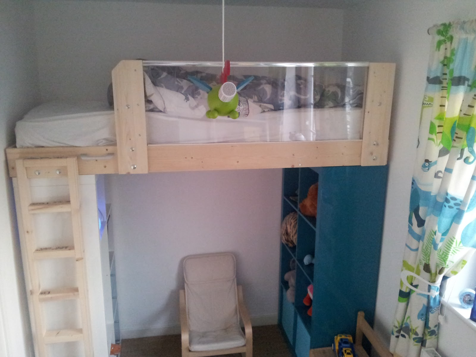 Luxury Ikea Hack Expedit Loft Bed