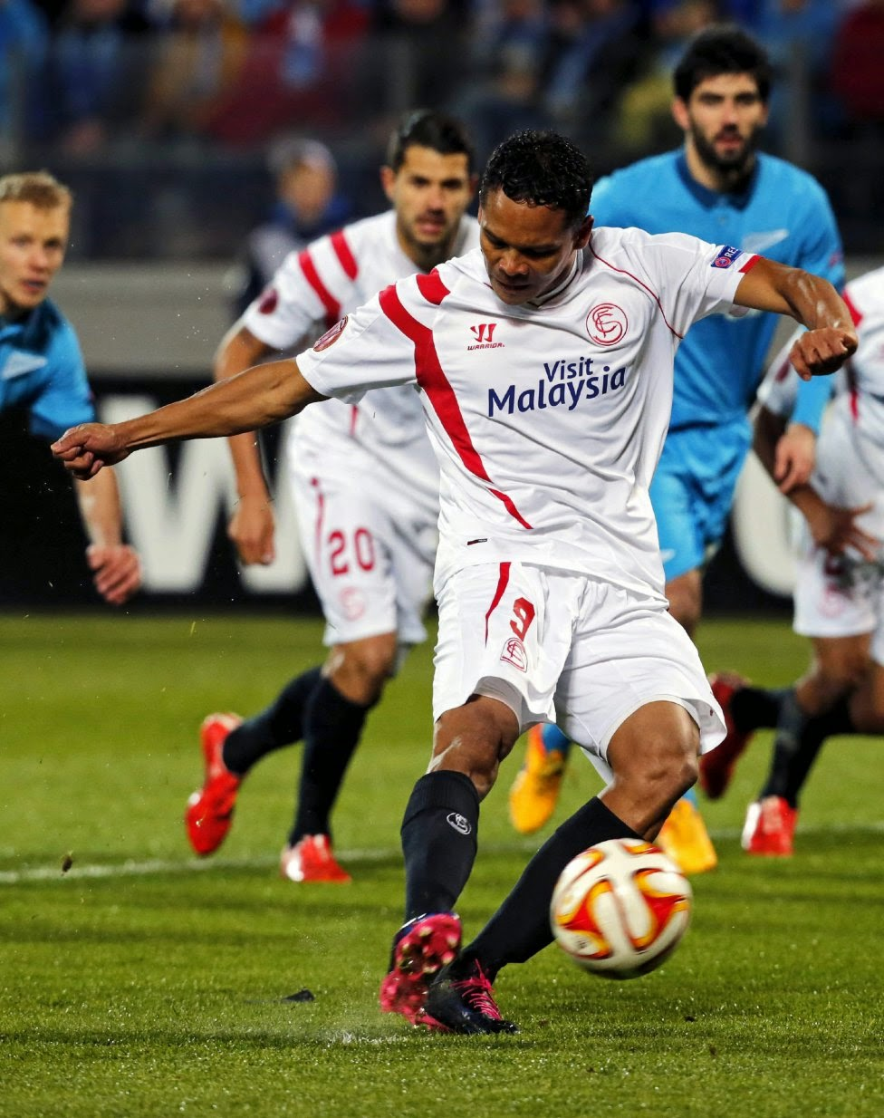 Sevilla FC vs Zenit Europa League 2015