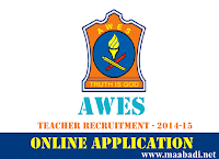 AWES Teachers Recruitment