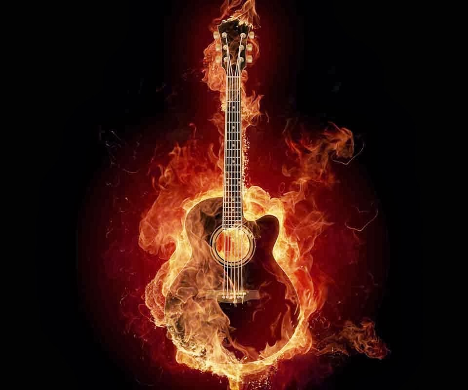 3d musics guitar backgrounds hd wallpapers for M wallpaper 3d