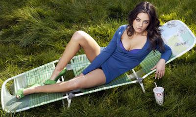 Mila Kunis in Bikini