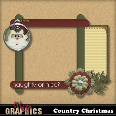 Time for a COUNTRY CHRISTMAS (and a Freebie!)