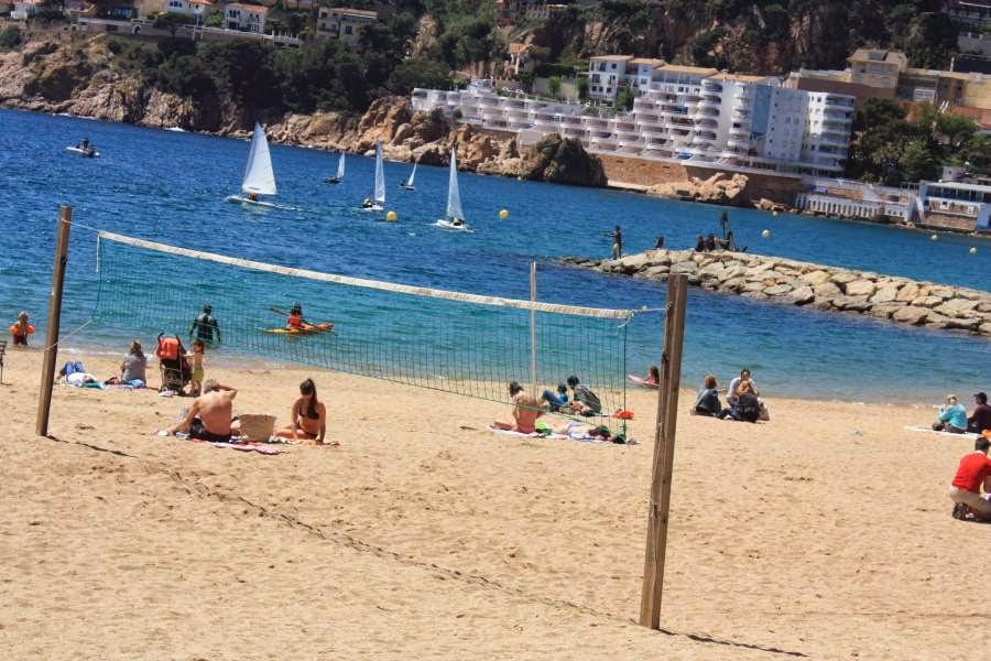 Beach of Sant Feliu de Guixols