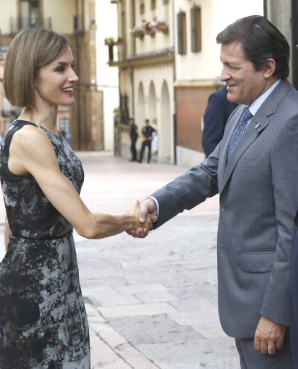 Queen Letizia Attended The Opening Of The Music School Summer Courses
