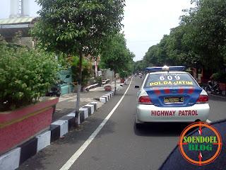 Mobil Patroli Jalan Raya Polres Magetan