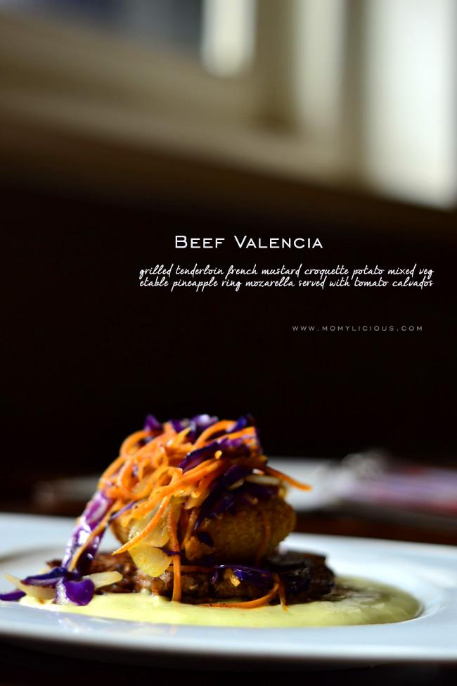 Beef Valencia