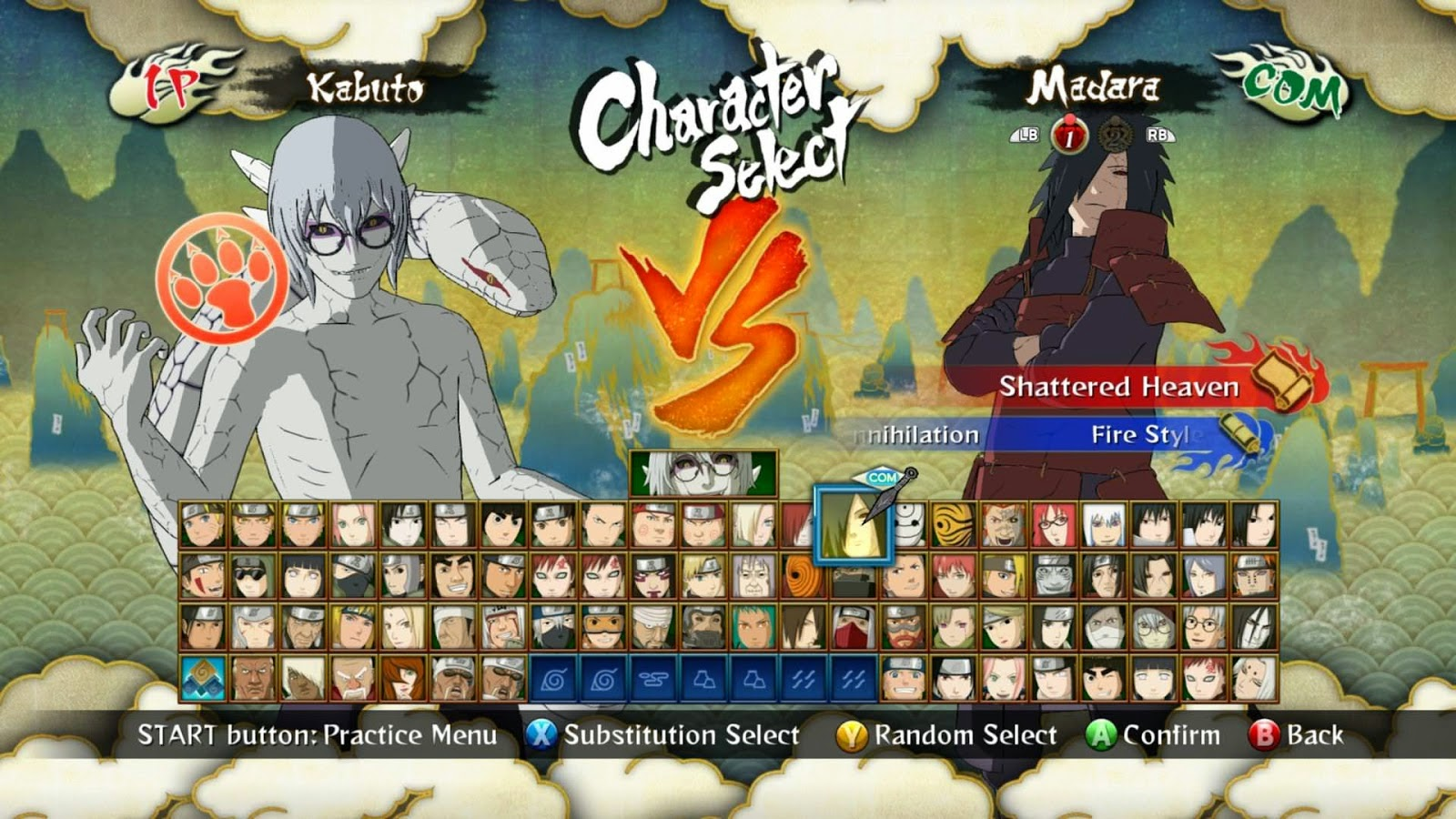 Naruto: ultimate ninja storm screenshots
