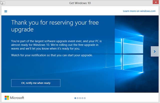 gratis upgrade windows 10