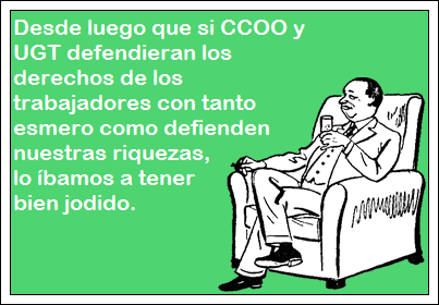 CCOO, UGT,