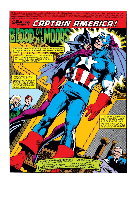 Captain America (1968) Issue #254 #169 - English 2