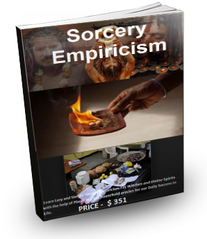 Sorcery Empiricism Book for Spiritual or Divine Methods or Ways