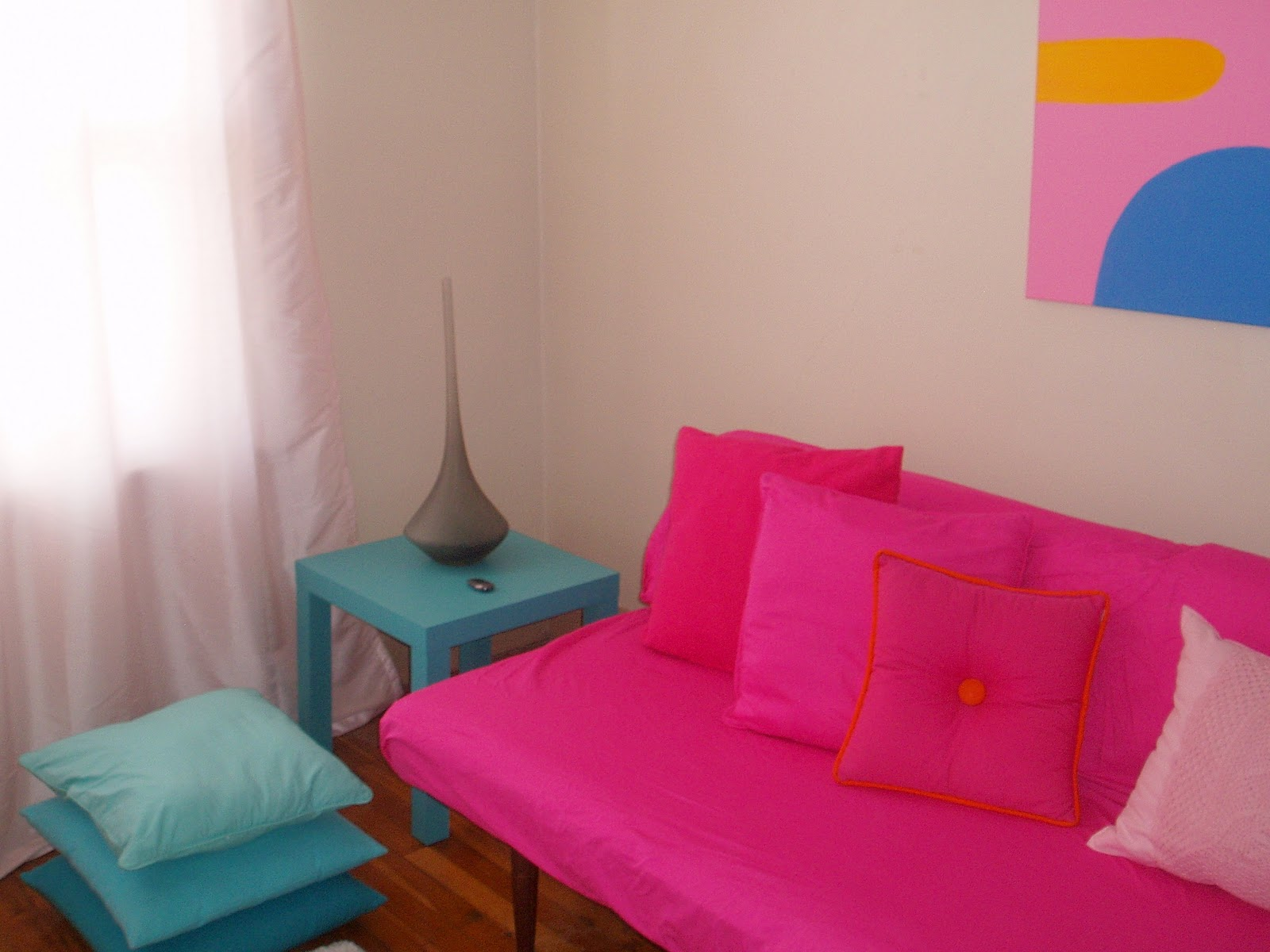 hot pink paint for bedroom color scheme hot pink and